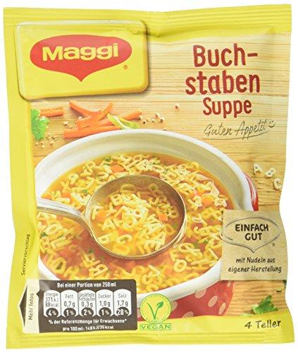 Maggi Guten Appetit Buchstaben Suppe, 16er Pack (16 x 100 g)