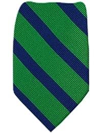 B-TOM-4 - Boys Tommy Hilfiger Necktie - Green Navy