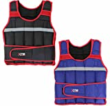 Xn8 Sports Weighted Vest 10,15,20Kg Weight Loss Training Running Adjustable Jacket Removable Weight Crossfit Weight Loss Body Workout Exercise