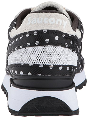 Schwarz Gymnastikschuhe CL Black Original Shadow Dot White Polka Damen Saucony Fgwq00