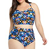 TWIFER Badeanzug Push-Up Bikinis Mädchen Große Größen Strand Bademode