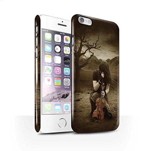 Officiel Elena Dudina Coque / Clipser Brillant Etui pour Apple iPhone 6 / Pack 6pcs Design / Réconfort Musique Collection Abandonné