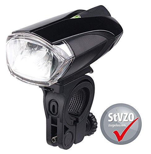 KryoLights Fahrrad LED: Batteriebetriebene LED-Fahrradlampe FL-110, Zugelassen Nach StVZO (Cree-LED Fahrradlicht) (87 Sicherheits-beleuchtung)