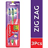 Colgate ZigZag Toothbrush - Medium (Buy 2 Get 1)