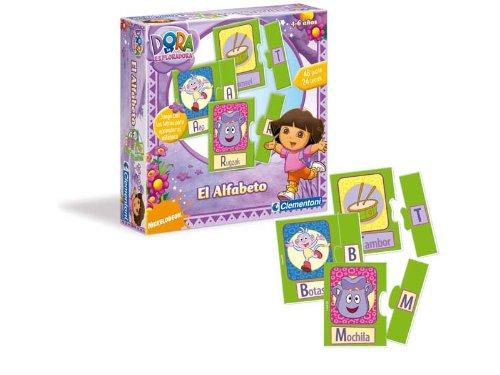 Imagen 1 de Clementoni - Juego Dora La Exploradora El Alfabeto 17-65070