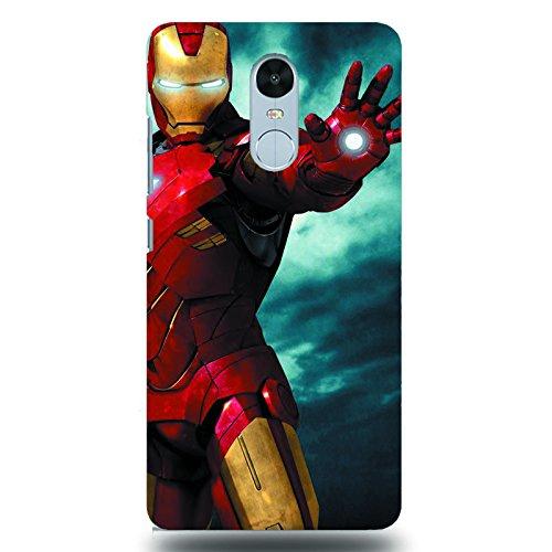 Dark Horse Redmi Note 4 Mobile Case - Iron Man