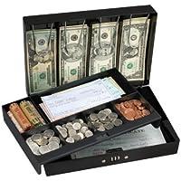 Masterlock 7147EURD Caja de Seguridad, Negro