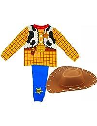 Boys Woody Toy Story Pyjamas + Hat Age 4-6