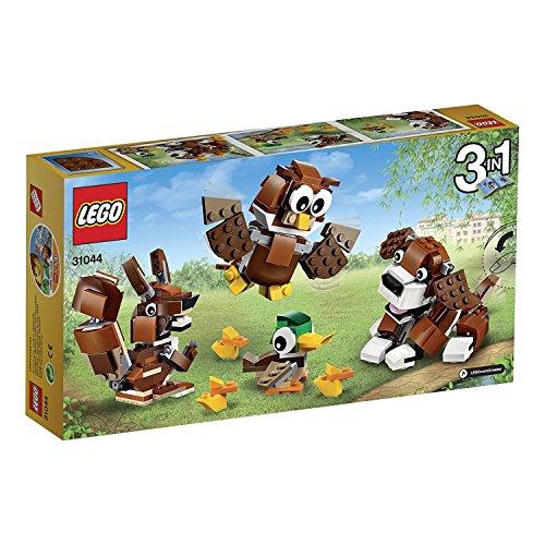 LEGO - 31044 - Creator - Jeu de Construction - Les Animaux du Parc