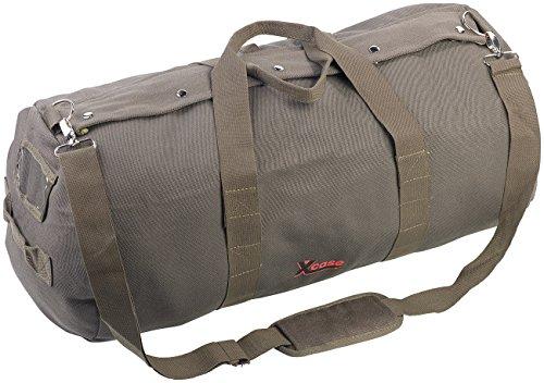 Xcase Canvas Taschen: XL-Canvas-Reisetasche mit gepolstertem Schultergurt, 70 Liter (Seesäcke)
