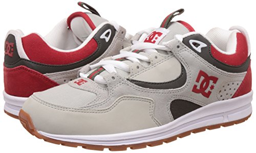 DC Shoes Kalis Lite - Chaussures pour homme ADYS100291 Grey Red White