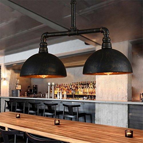 éclairage romantique Loft vintage country américain fer forgé industriel lustre tuyau personnalité créative