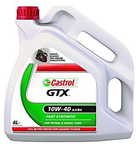 ricambi auto smc Castrol GTX 10W-40 - Benzina/Olio Motore Diesel parzialmente Sintetico 4L