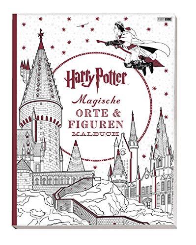 Harry Potter: Magische Orte & Figuren Malbuch (Malen Potter Harry)