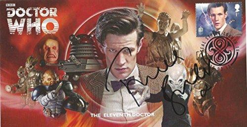 Dr Doctor Who BBC Official 50th Anniversary Limited Edition Frances Barber / Madame Kovarian unterzeichnet Ersttagsbrief - Die Elfte Doktor - Matt Smith -