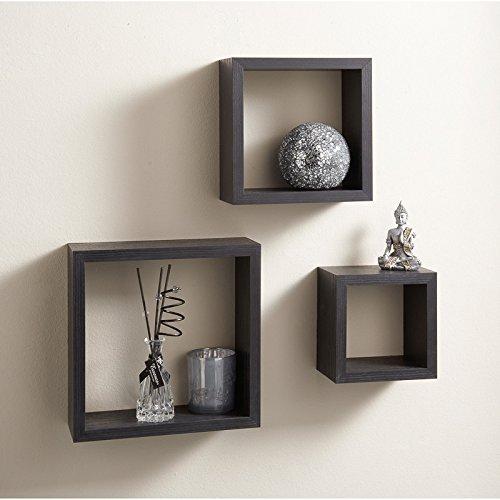 Top Home Solutions Set di 3cubi Mensole
