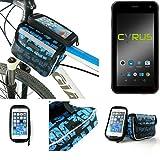 Fahrrad Rahmentasche für Cyrus CS 22, Fahrradhalterung