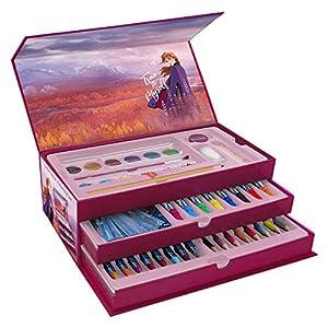 FROZEN 2- Frozen II maletín de Dibujo 42pz (NI DI1583FR2)