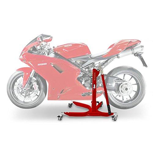 Bequille d'atelier Centrale ConStands Power Ducati 1098 07-08 rouge