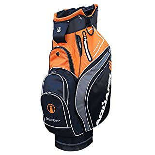iCart Golf Aquapel 3 Wasserfest Golftasche (2018) - Schwarz/Orange