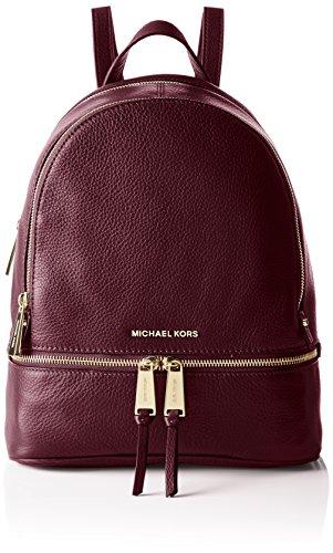 Michael Kors Rhea Zip Md Back Pack, Portés dos Prune