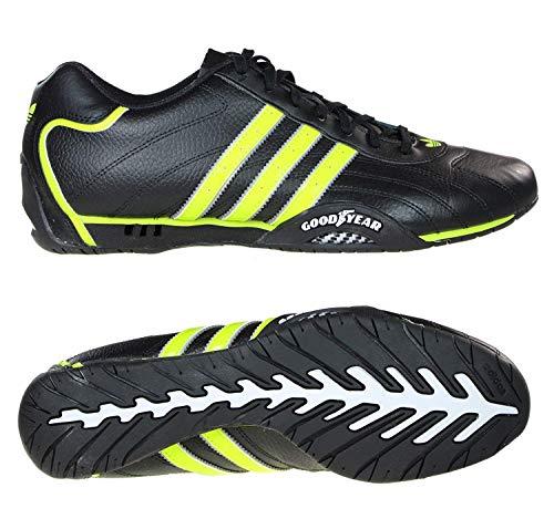 Adidas Adi Racer Low, EU: 43 1/3 ;Farbe:Schwarz/Grün
