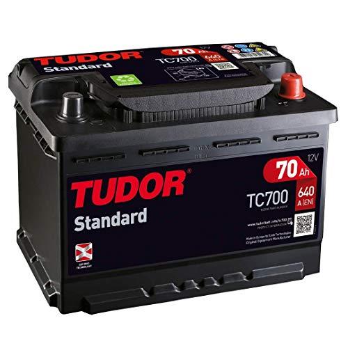 batteria Tudor AH/640A (EN) + D Gamma Standard 2anni di garanzia Auto Furgone SUV 4X 4Maxima qualità dimensioni lunghezza: 278mm larghezza: 175mm altezza: 190mm