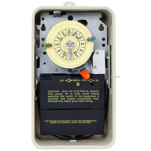 Intermatic T101R201 Time Switch/Metal Enclosure Heat Protect by Intermatic