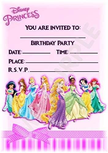 adungskarten für Geburtstagspartys, Hochformat mit Schleife, 12 Stück WITH Envelopes ()