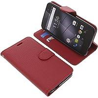 Tasche für Gigaset GS170 GS160 Book Style rot Schutz Hülle Buch