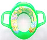 Baby Grow Baby Soft Full Cushion Abstract Potty Trainer Seat Assorted (Green)