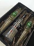 Russian Standard Vodka Lemon Set / Geschenkset -Russian Standard Vodka 700ml (40% Vol) + 2x Gläser + 2x Thomas Henry Bitter Lemon 200ml