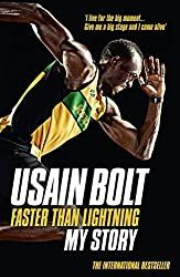 Faster than Lightning: My Autobiography by Usain Bolt (2015-06-25)