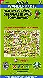 Fritsch Karten, Nr.55, Naturpark Nördlicher Oberpfälzer Wald, Böhmerwald (Fritsch Wanderkarten 1:50000) -