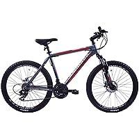 ammaco Sport alpini 21Velocità Telaio Mountain Bike con freni a disco 26