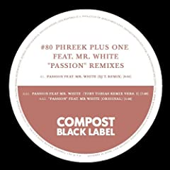 """Black Label #80 - """" Passion """" Remixes by DJ T., Toby Tobias and Sportloto"""