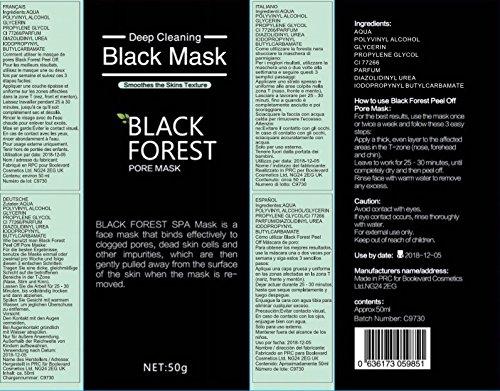 black forest spa black mask mitesser entferner. Black Bedroom Furniture Sets. Home Design Ideas