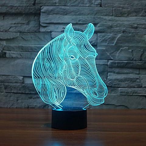 KING DO WAY 3D LED USB Veilleuse Lumière De Nuit
