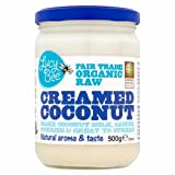 Lucy Bee Organic Fair Trade Raw Creamed Coconut, 500 g (Pack of 3 )