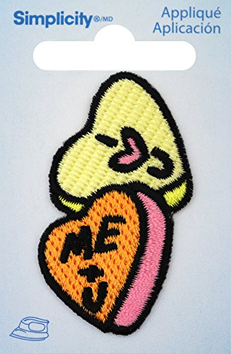 Wrights Iron-On Applique-Candy Hearts (Candy Applique)