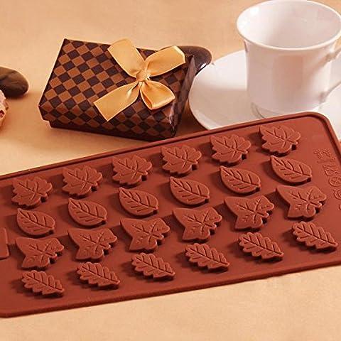 Bluelover Blätter Silikon Fondant Cake Decorating Form Schokolade Soap Form