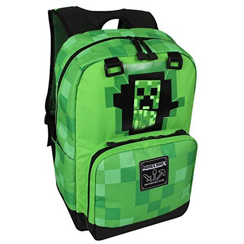 Imagen de minecraft creeper  de diseño 42x30x18cm verde