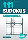 111 Sudokus Großdruck: Rätselheft mit 111 sehr leichten Sudoku Rätsel im 9x9 Format mit Großer Schrift und Lösungen | DIN A4 | Band 5 - Visufactum Rätsel