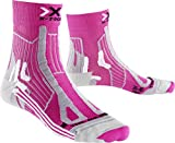 X-Socks Damen Socken Trail Run Energy Lady, Pink/Pearl Grey, 39/40, X100108