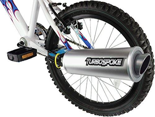 Turbospoke Auspuff mit Sound
