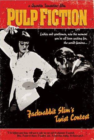 Pulp Fiction Slims Jack Rabbit-Poster (Regular, Poster, 61 x 91,5 cm