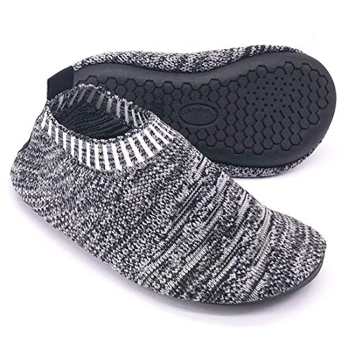 Dream Bridge Kids Slipper Socks Anti-Slip Knit Sock Slippers for Boys Girls Indoor Outdoor Socks with Rubber Bottom Sole