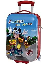Next Door Mickey Trolley de Viaje Rígido, 21 Litros, Color Azul