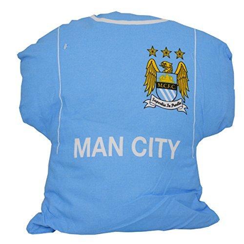 Manchester City FC Niños/Niños Oficial Camiseta De Fútbol Amortiguador - Azul Cielo, One Size