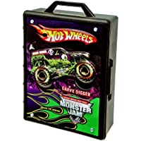 Hot Wheels Monster Jam Truck Case Carry Handle For On The Go 1 Pound
